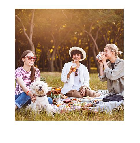 Piknik z przyjaciółkami